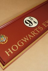 Harry Potter - Hogwarts Express Platform 9 3/4 Sign