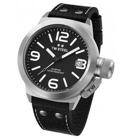 TW Steel - Canteen TW2 Black 45mm Men's Watch