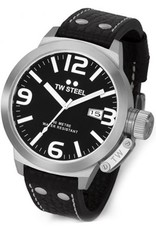 TW Steel - Canteen TW22 Black 50mm Men's Watch