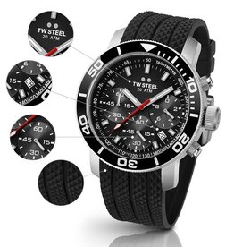 TW Steel - Grandeur Diver TW700 45mm Men's Watch