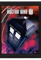 Doctor Who - Tardis 3D Framed Print
