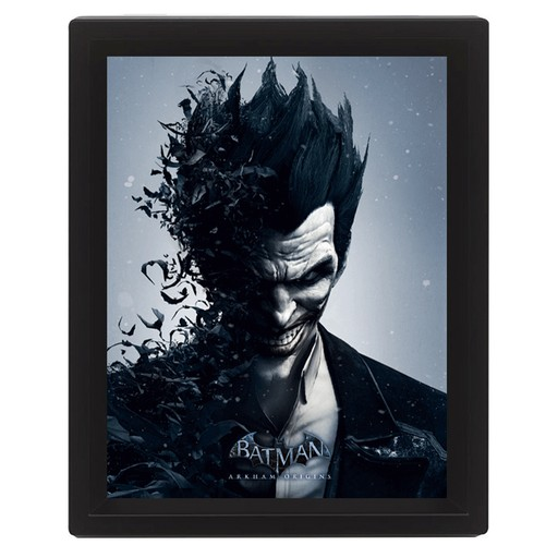 Batman - Arkham Origins 3D Framed Print