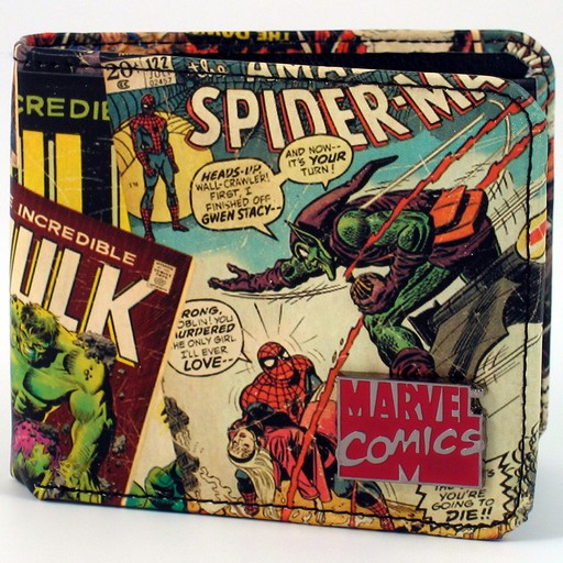 Marvel Comics - Retro Men's Wallet