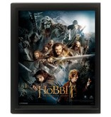 The Hobbit - An Unexpected Journey 3D Framed Print