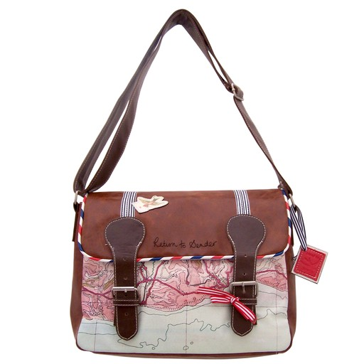 Paper Plane Ladies Satchel by House of Disaster