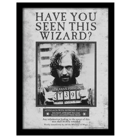 Harry Potter - Sirius Black Wanted Poster Framed Print