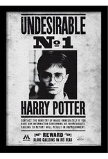 Harry Potter - Undesirable No. 1 Wanted Poster Framed Print