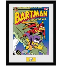 The Simpsons - Bartman Framed Print