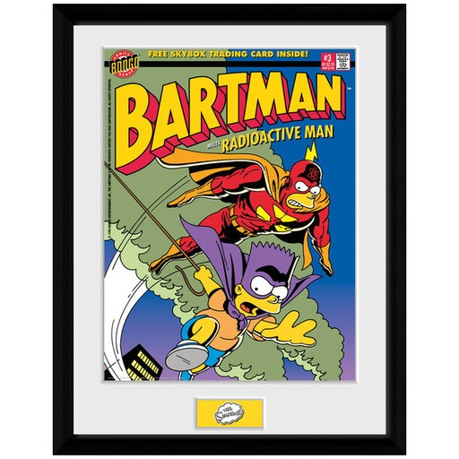 The Simpsons - Bartman Framed Print