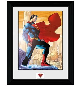 Superman - Daily Planet Framed Print