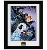 Batman - Comic Fight Framed Print