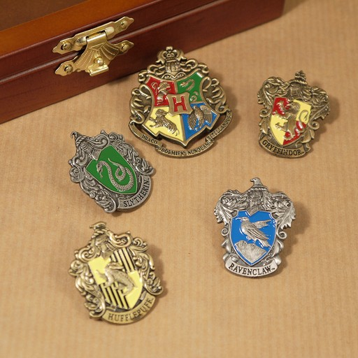 Harry Potter - Hogwarts House Pins