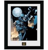 Batman - Moonlit Kiss Framed Print