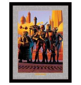 Star Wars - Bounty Hunters Framed Print