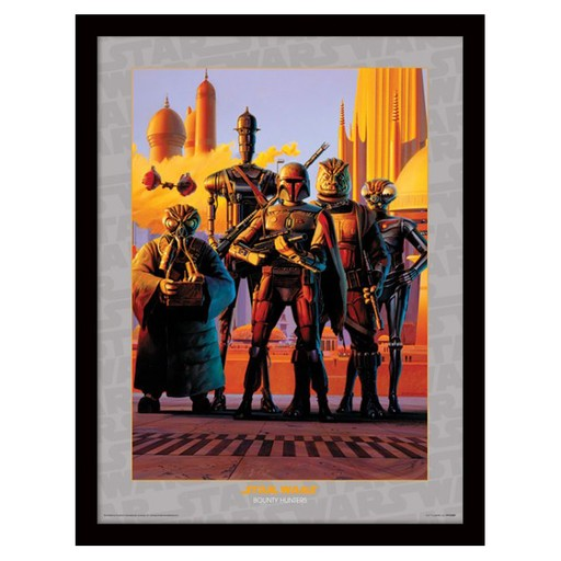 Star Wars - Bounty Hunters Framed Print