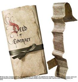 The Hobbit - Bilbo's Deed of Contract