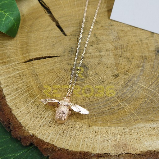 Alex Monroe - Bumblebee Rose Gold Necklace