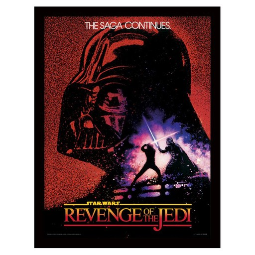 Star Wars - Revenge of the Jedi Framed Print