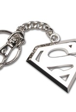 Superman - Logo Steel Keyring