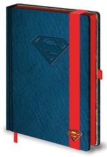 Superman - Classic Logo Premium A5 Notebook