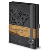 Game of Thrones - House Stark Sigil Premium A5 Notebook