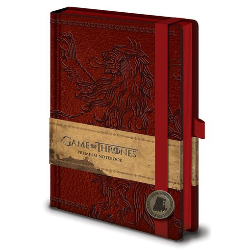 Game of Thrones - House Lannister Sigil Premium A5 Notebook