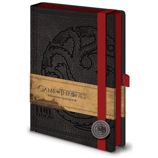Game of Thrones - House Targaryen Sigil Premium A5 Notebook