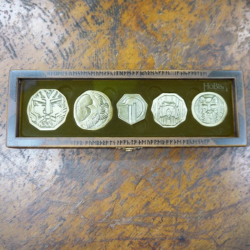 The Hobbit - Dwarven Treasure Coin Set