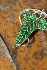 The Lord of the Rings - Elven Leaf Brooch - Sterling Silver