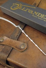 Harry Potter - The Elder Wand Necklace - Silver Plated