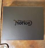 Norton - Quilted Full Grain Leather Men's Wallet - Vintage Tan