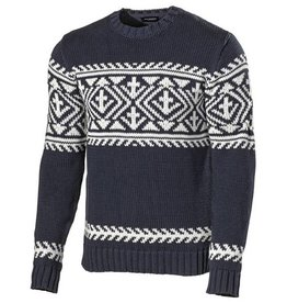 Holebrook - Sven Crew Neck Men's Jumper - Navy/Off White