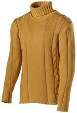 Holebrook - Trond Roll Neck Men's Jumper - Dark Yellow
