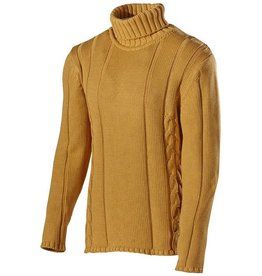 Holebrook - Trond Roll Neck Men's Jumper - Dark Yellow