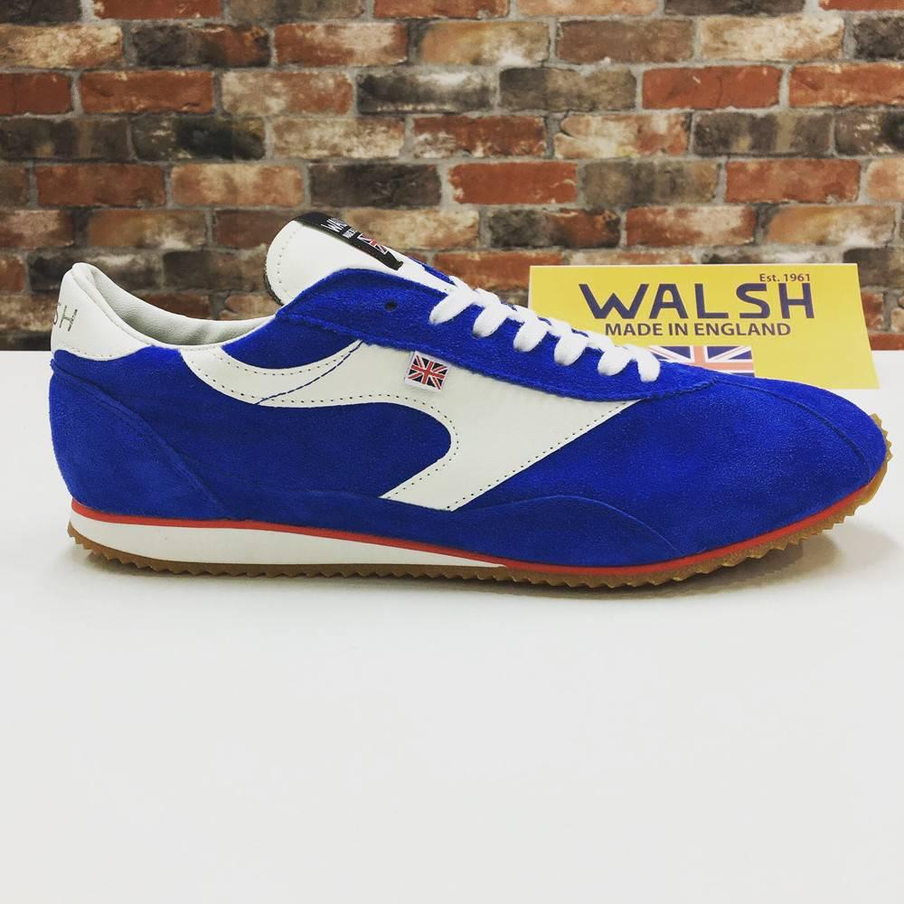 Walsh - Cobra Race Men's Sneakers - Peacock Blue/White