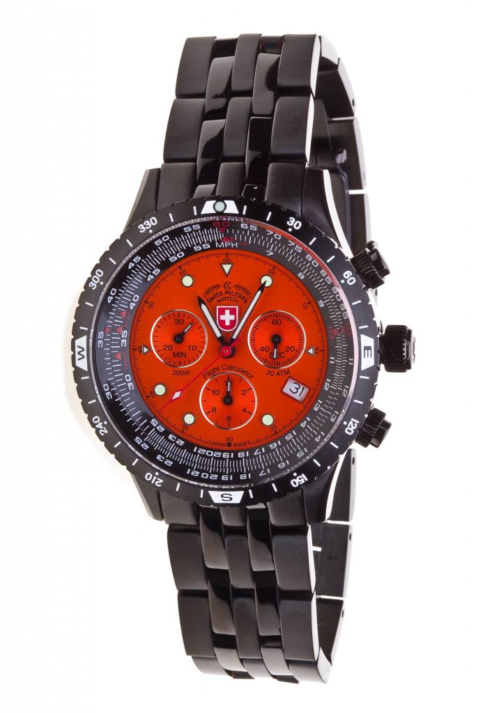watch i swiss evo orange watches airforce military by