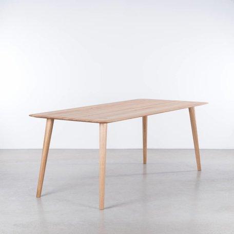 Sav okse td4 hout tafel eiken de machinekamer for Eettafel scandinavisch