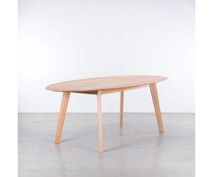 Sav & okse samt ovale tafel beuken de machinekamer