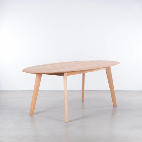 Samt Ovale Tafel Beuken