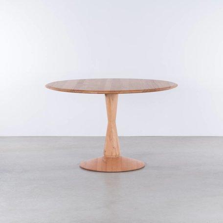 Volante ronde tafel Beuken
