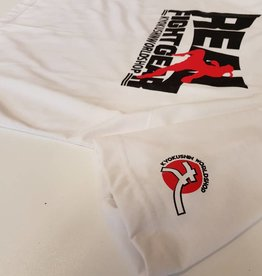 REAL FIGHTGEAR (RFG) REAL FIGHTGEAR T-SHIRT - White