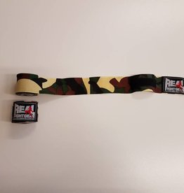 REAL FIGHTGEAR (RFG) Hand wrapping - 250cm Camo Green