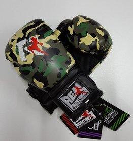 REAL FIGHTGEAR (RFG) Box handschoenen - Camo Groen