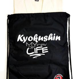 "ISAMU 勇ISAMU Kyokushin ""MY WAY OF LIFE"" Nylon tas"