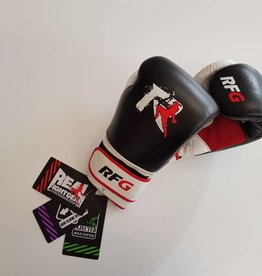 REAL FIGHTGEAR (RFG) Real Fightgear BXBW-1 Boxing gloves - Black/White