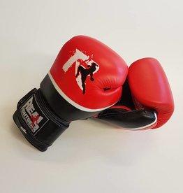 REAL FIGHTGEAR (RFG) Real Fightgear BXRB-1 Boks Handschoenen - Rood/Zwart