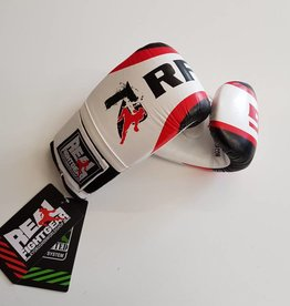 REAL FIGHTGEAR (RFG) BGWB-1 Bag gloves - White