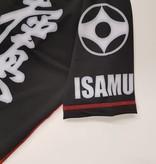 ISAMU 勇 ISAMU KYOKUSHIN KARATE FIGHT RASHGUARD-RYUU BLACK/GREY