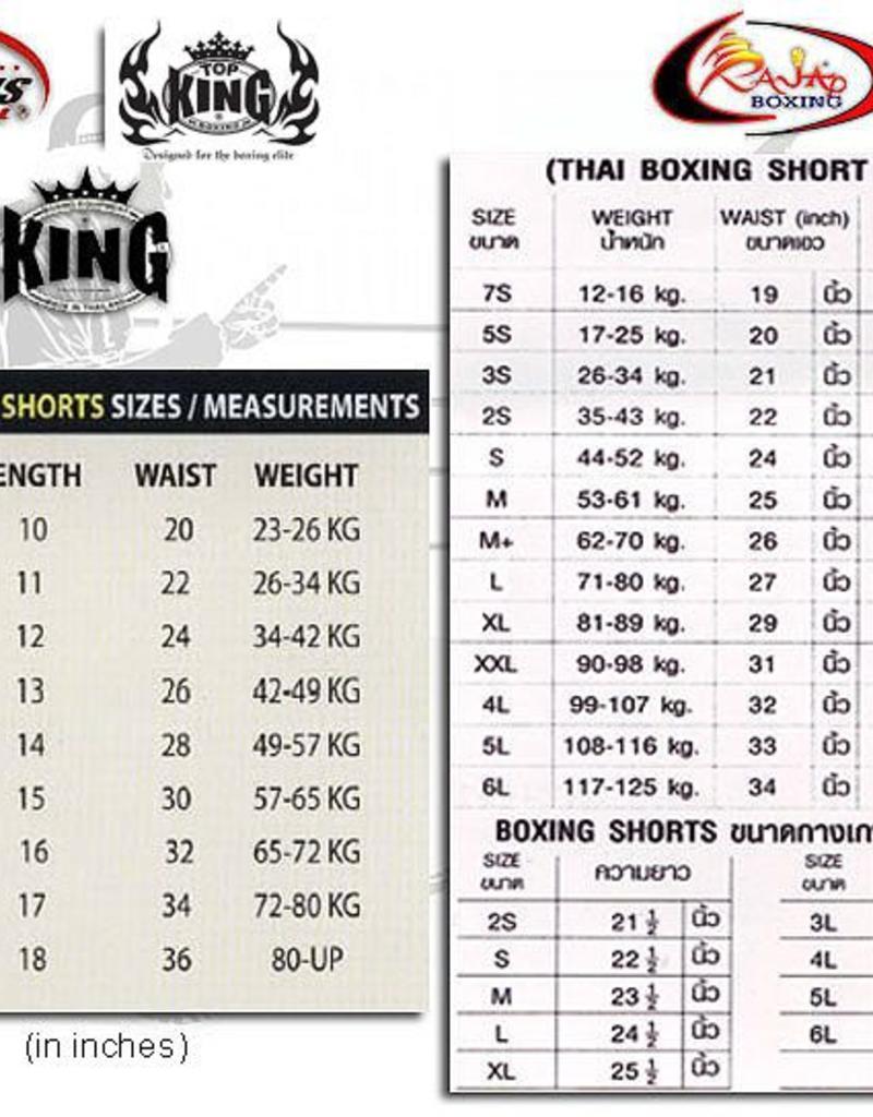 King Professional King KTBS 30 KICKBOX SHORT
