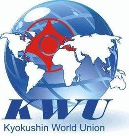 Kyokushin World Union logo embroidery